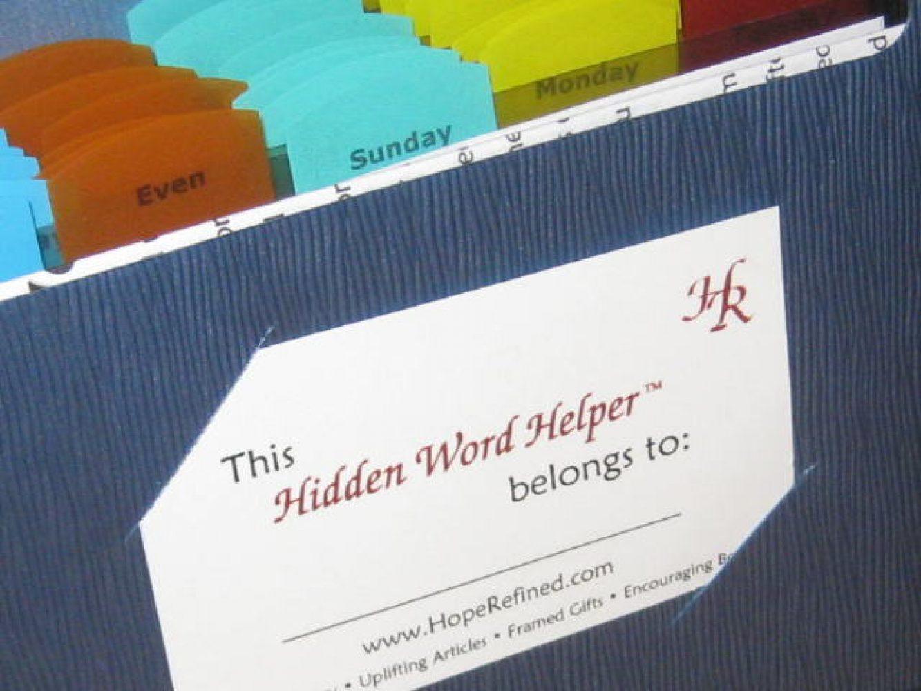 Hidden Word Helper